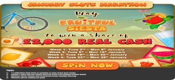 Spin Fruitful Fiesta To Win A Share Of £2000