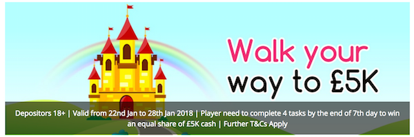 Walk Your Way To £5000 With Cozy Games